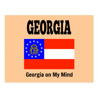 Bandera y lema de Georgia Postal