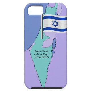Bandera y mapa de Israel Funda Para iPhone SE/5/5s