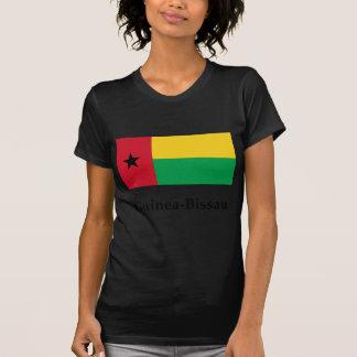 Bandera y nombre de Guinea-Bissau Camiseta