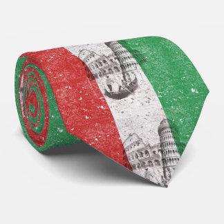 Bandera y símbolos de Italia ID157 Corbata Personalizada