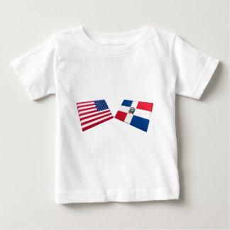 Banderas de los E.E.U.U. y de la República Camiseta
