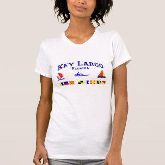 Banderas de señal dominantes de FL del Largo Camiseta