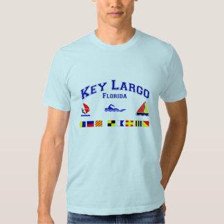 Banderas de señal dominantes de FL del Largo Camisetas