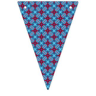 Banderas del empavesado del vintage del