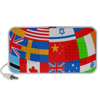 banderas del mundo iPhone altavoces
