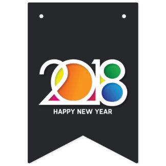 Banderines Celebración del fiesta del Año Nuevo del arte