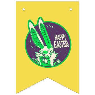 Banderines dibujo animado divertido feliz del conejito de