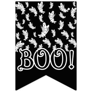 Banderines Halloween - apenas el 'frecuentar feliz fantasmal