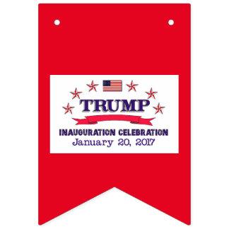 Banderines Inauguración del triunfo