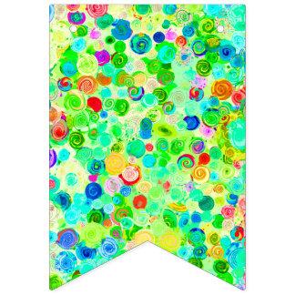 Banderines Modelos espirales coloridos lindos del cosmos