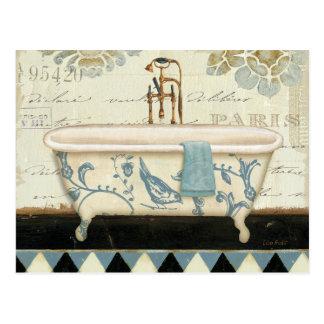 Bañera del francés del vintage