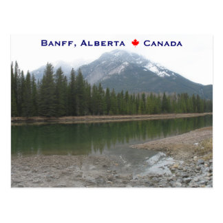 Banff Alberta Canadá Postal