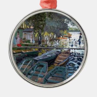 Bañistas de Monet en el La Grenouillère Adorno De Reyes