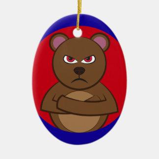 Baño angry bear