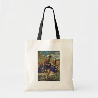 Baño de chicas de Daumier Honoré Bolsas