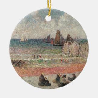 Baño de Dieppe por Gauguin, impresionismo del Adorno De Reyes