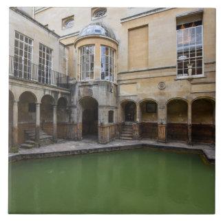 Baños romanos en el baño Inglaterra Azulejo De Cerámica