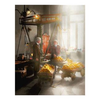 Banquero - digno de su peso en oro folleto 21,6 x 28 cm