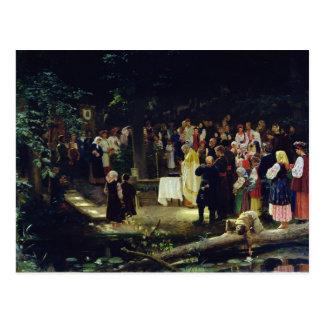 Banquete de la transfiguración de nuestro señor postal