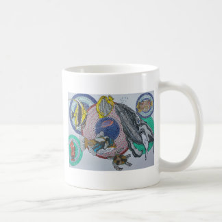 Banquete tropical taza de café