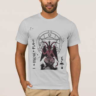 Baphomet - bendecido sea camiseta