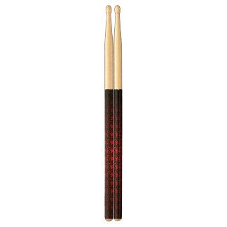 Baquetas De Batería palillos black&red extracto