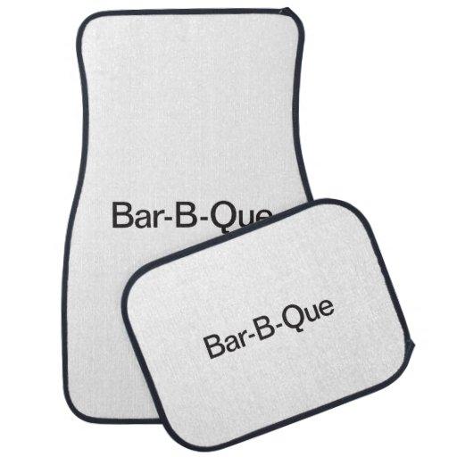 Bar-B-Que.ai Alfombrilla De Coche
