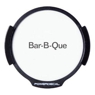 Bar-B-Que.ai Decal LED Para Ventana