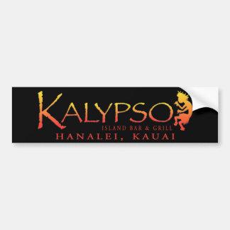 Bar y grill de la isla de Kalypso Pegatina Para Coche