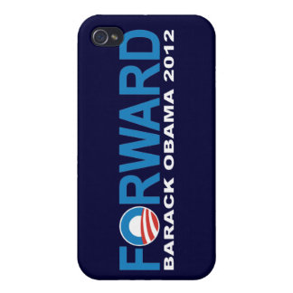 """Barack Obama 2012 """"delantero"""" iPhone 4 Carcasa"""