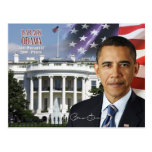 Barack Obama - 44.o presidente de los E.E.U.U. Tarjeta Postal