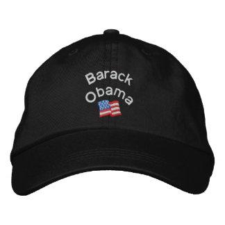 Barack Obama bordó el gorra
