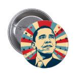 Barack Obama Chapa Redonda De 5 Cm