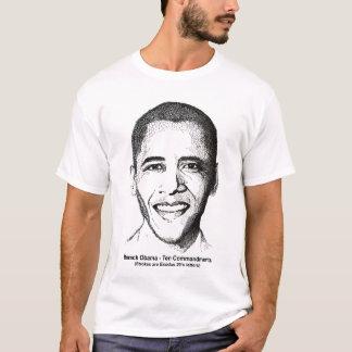 Barack Obama diez mandamientos 2 echó a un lado Camiseta