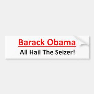 Barack Obama es un deseo de ser emperador Pegatina Para Coche
