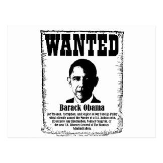 Barack Obama quiso el poster Postal