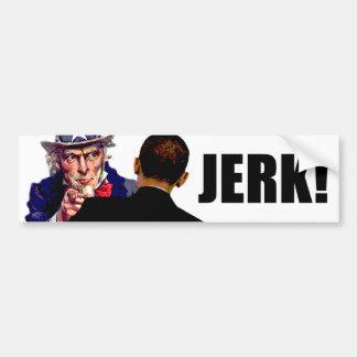 Barack Obama: Tirón Pegatina Para Coche