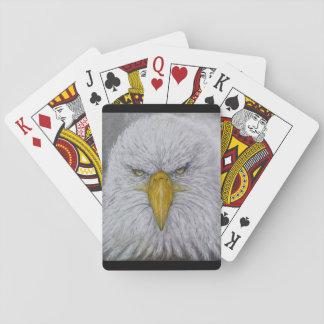 Baraja De Cartas águila, águila calva, águila con la bandera