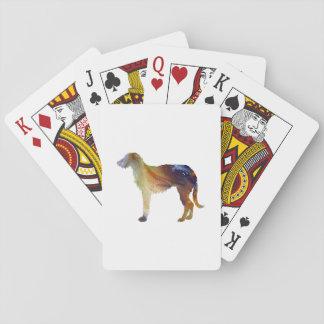Baraja De Cartas Arte de Deerhound