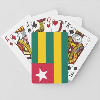 Baraja De Cartas Bandera nacional del mundo de Togo