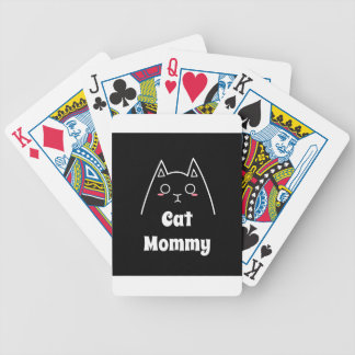 Baraja De Cartas Bicycle Ame a mi mamá del gato
