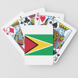 Baraja De Cartas Bicycle ¡Bajo costo! Bandera de Guyana
