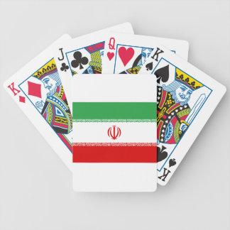 Baraja De Cartas Bicycle ¡Bajo costo! Bandera de Irán
