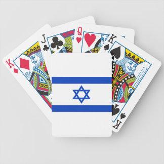 Baraja De Cartas Bicycle ¡Bajo costo! Bandera de Israel