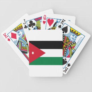 Baraja De Cartas Bicycle ¡Bajo costo! Bandera de Jordania