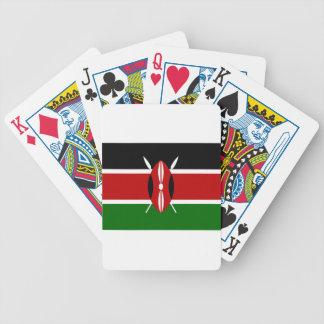 Baraja De Cartas Bicycle ¡Bajo costo! Bandera de Kenia
