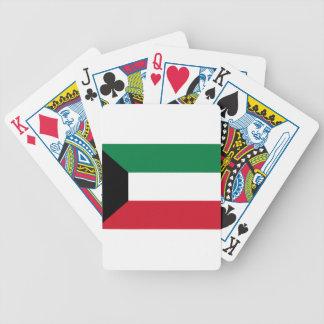 Baraja De Cartas Bicycle ¡Bajo costo! Bandera de Kuwait
