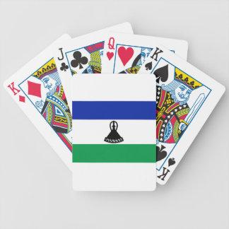 Baraja De Cartas Bicycle ¡Bajo costo! Bandera de Lesotho