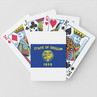 Baraja De Cartas Bicycle Bandera de Oregon