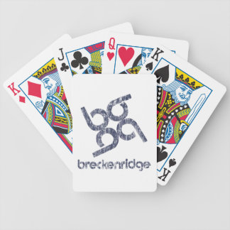 Baraja De Cartas Bicycle Breckenridge